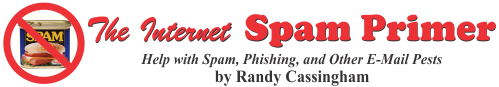 The Internet Spam Primer